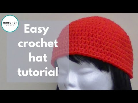 47f8dce208a Crochet a Basic Beanie Tutorial - Half Double Crochet - Preemie to Adult  size
