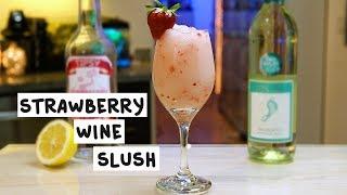 Strawberry Wine Slush