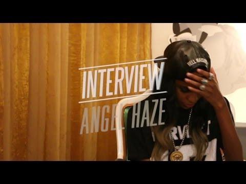 Angel Haze - Interview! OFIVE