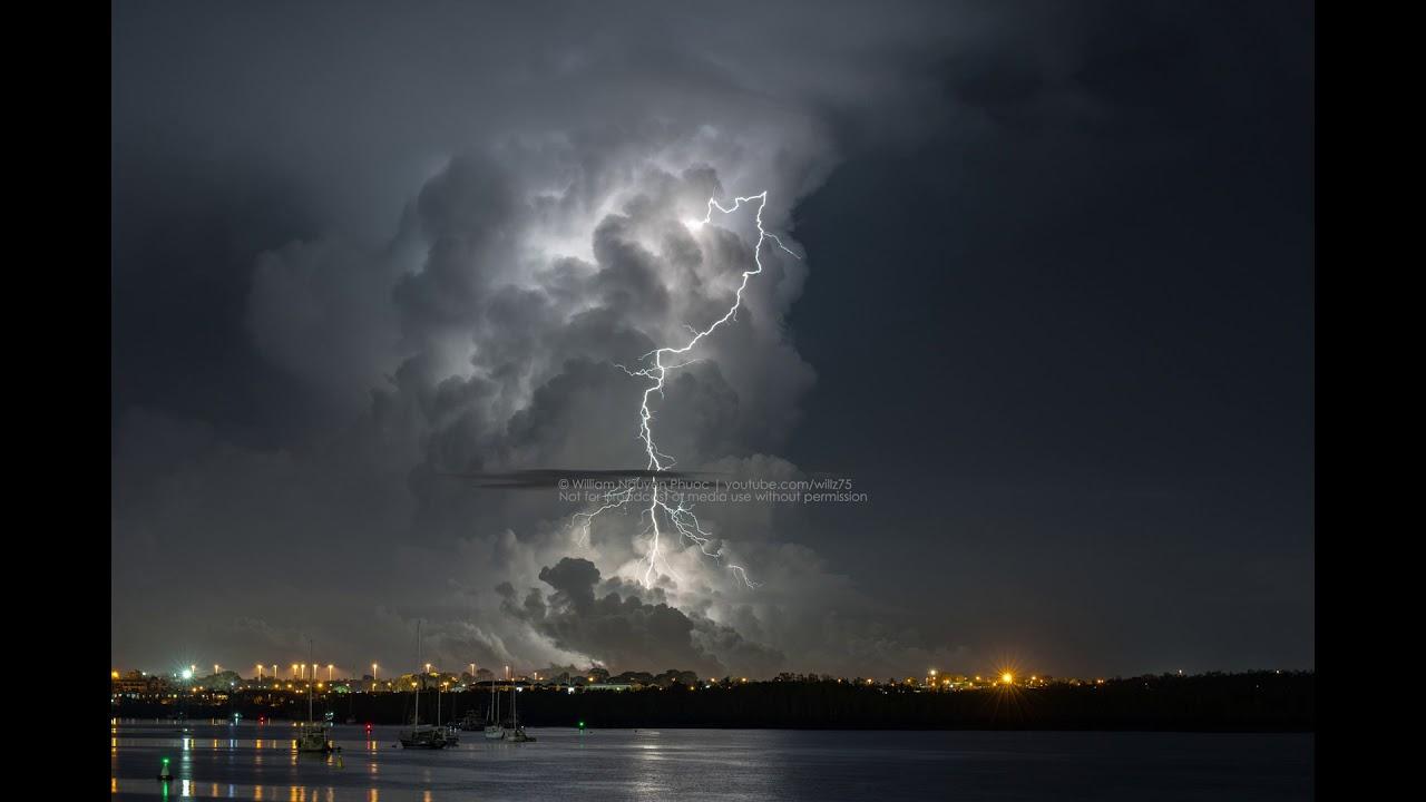 Darwin Thunderstorm Timelapse - 22 March 2018