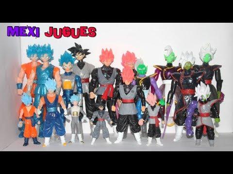 Saga De Black Goku - Colección De Figuras Bootleg Mexicanas