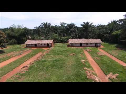 Drone flight throughout Ngandanjika (RD Congo)