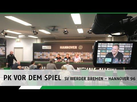 PK vorm Spiel | SV Werder Bremen - Hannover 96