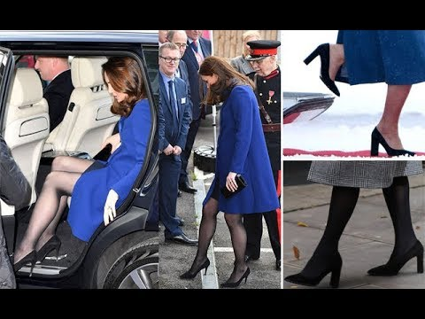 3b957e47015 Kate Middleton s tights and high heels hack revealed - YouTube