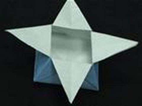 How To Make An Origami Star Box Youtube