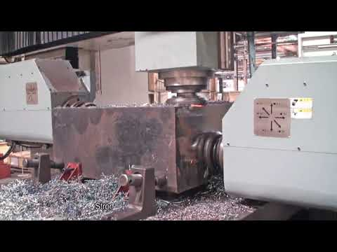 Double Column 3 Spindle Milling Machine-WIM