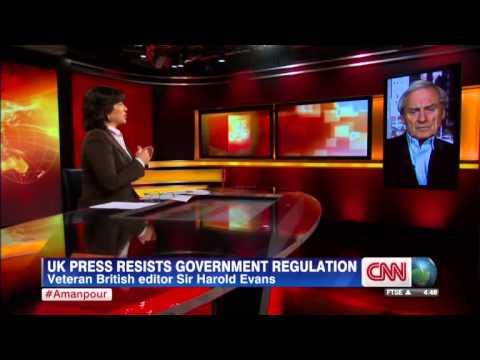 Veteran editor Harold Evans calls for British First Amendment protecting