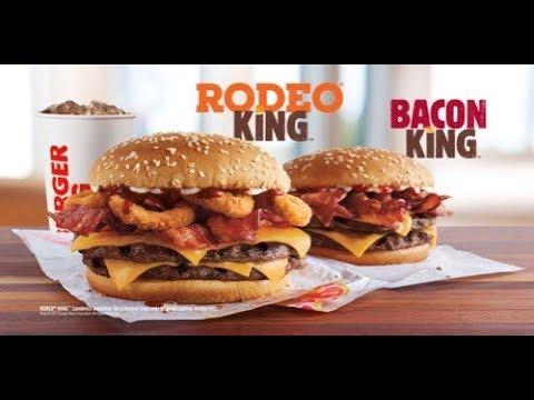 BURGER KING Rodeo King Burger Review