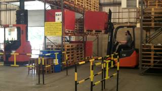 How not drive a Fork Lift Truck