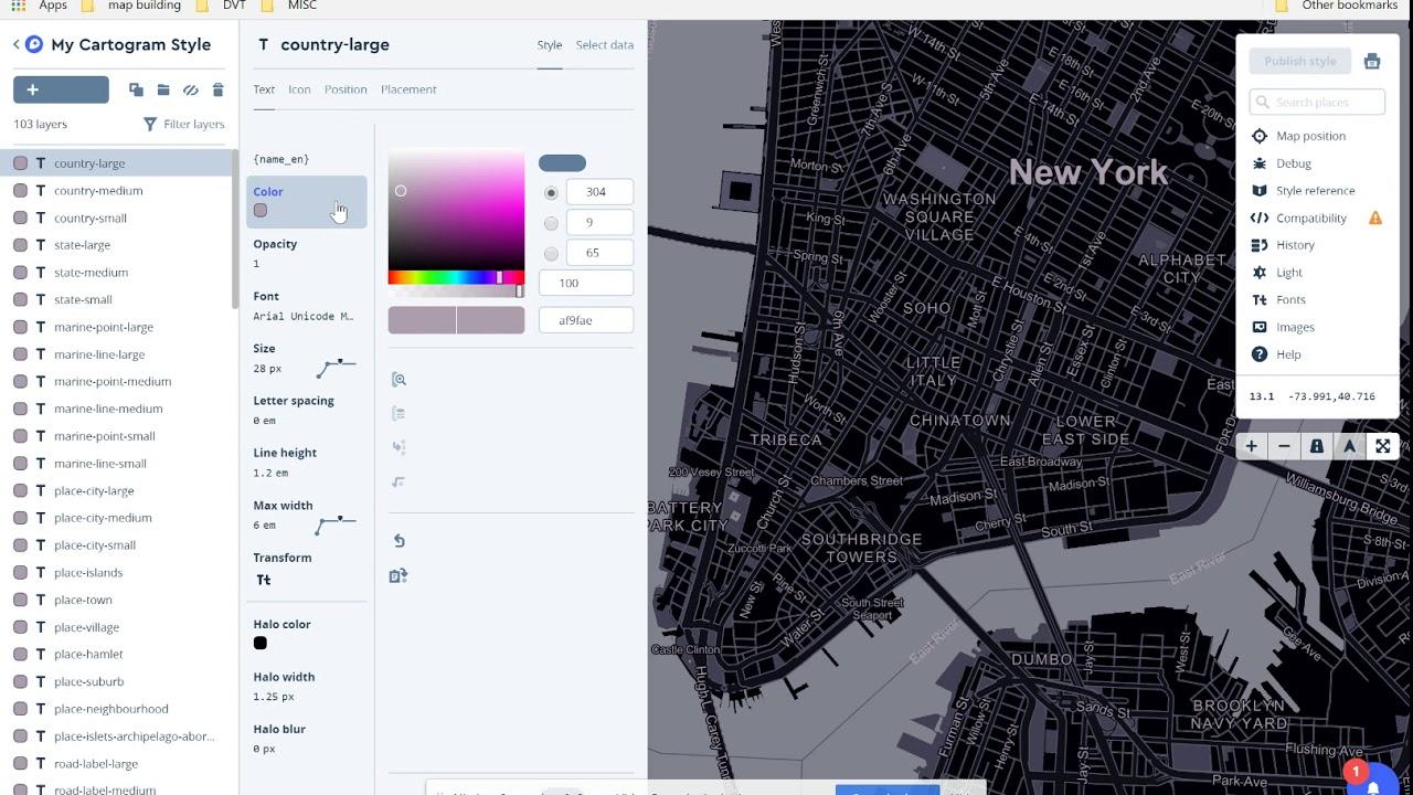 mapbox — Data Viz Today