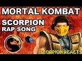 Scorpion Sub Zero REACT SCORPION RAP SONG MORTAL KOMBAT MKX PARODY REACTION mp3