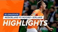 Highlights Nederland-Noord-Ierland (10/10/2019) EK-kwalificatie