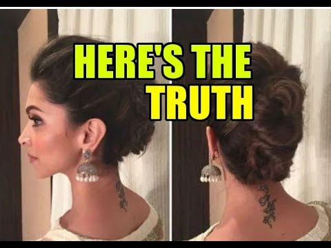 No More 'RK Tattoo' for Deepika Padukone? | Bollywood News | Saas Bahu aur Saazish