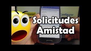 Como Configurar solicitudes de amistad en Facebook android samsung galaxy s3 español