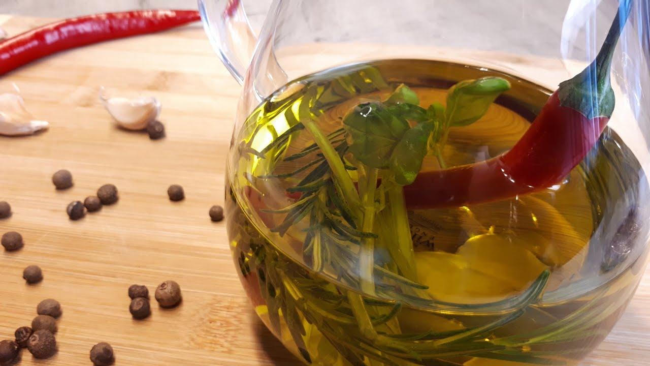Ароматное масло с травами и специями, для салатов и отварного картофеля. Заправка для салатов.