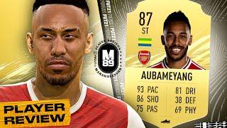 FIFA 21 AUBAMEYANG PLAYER REVIEW   87 AUBAMEYANG REVIEW   PLAYER REVIEWS