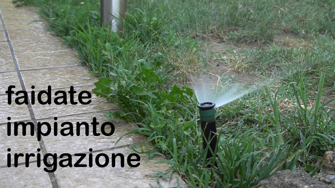 Impianto di irrigazione fai da te guida alla - Mobiletti fai da te ...