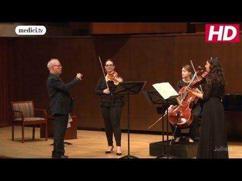 Master Class : Joel Smirnoff - Wolfgang Amadeus Mozart (Juilliard School)