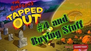 Halloween Simpsons Tapped Out - Main Quest Line pt 4 - Buying Stuff