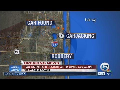 2 juveniles in custody after armed carjacking