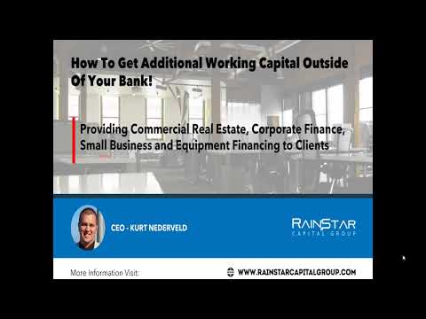 How to get Additional Working Capital