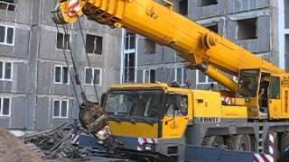 Смотреть видео аренда автокрана в Петербурге
