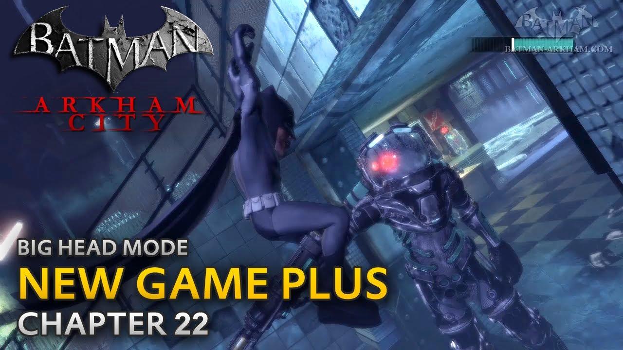 Batman: Arkham City – New Game Plus – Chapter 22 – Mister Freeze Boss Fight