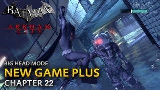 Batman: Arkham City - New Game Plus - Chapter 22 - Mister Freeze Boss Fight