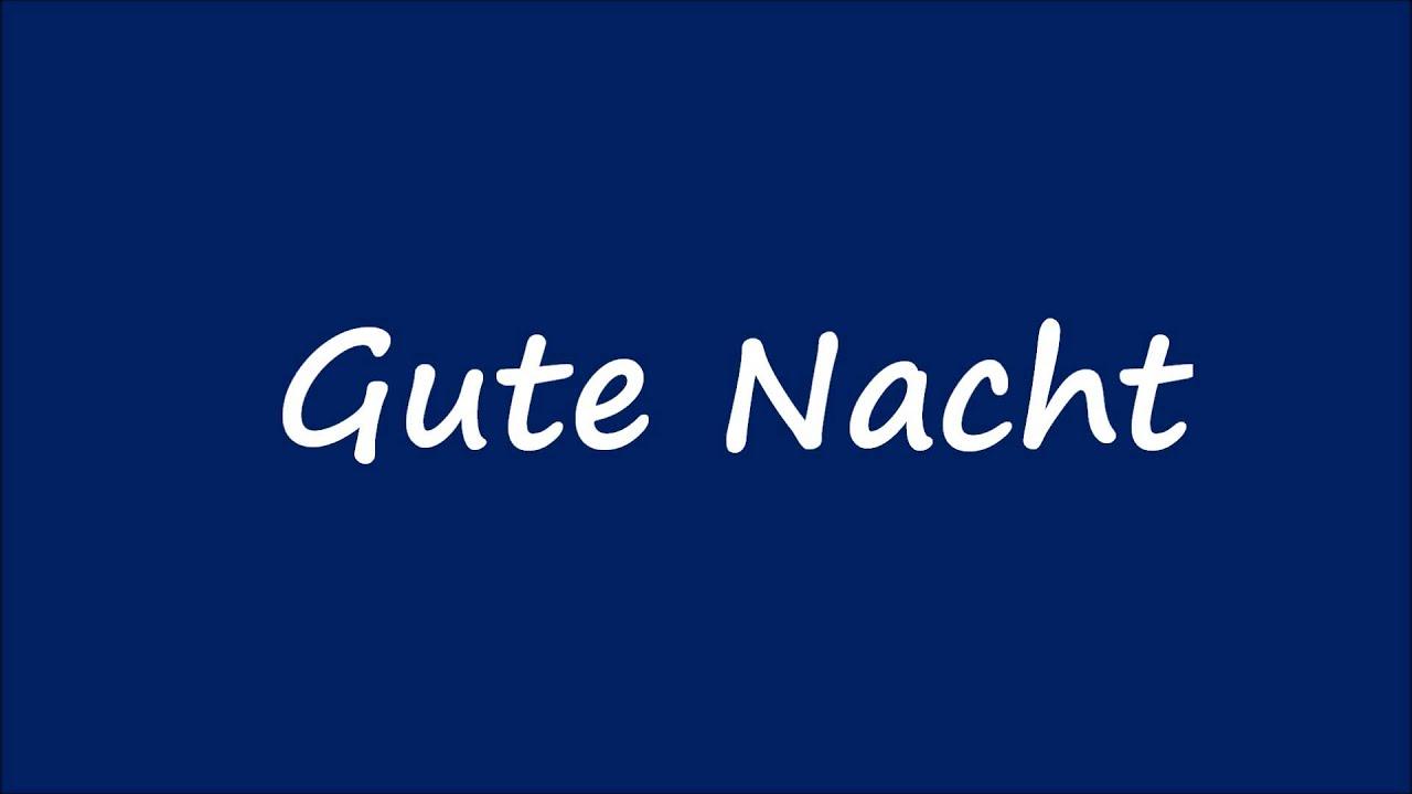 Good Afternoon Deutsch