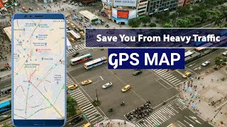 Gps Map Route Traffic Navigation | Live Traffic Map | Traffic Navigation screenshot 1