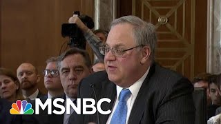 Paragon Of Corruption At Trump Interior Draws Eye Of Congress | Rachel Maddow | MSNBC