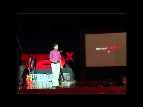 TEDxNITKSurathkal - Anoj Viswanathan: Reinventing Charity