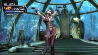 Injustice: Gods Among Us - Harley Quinn vs Joker Gameplay