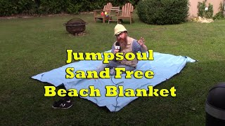 JUMPSOUL Sand Free Beach Blanket Product Review