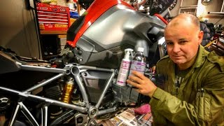 How to apply ACF50 to your motorcycle