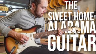 I Played THE ACTUAL Sweet Home Alabama Guitar