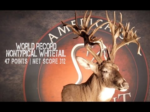 New World Record Whitetail Deer Taken With A Knight Muzzleloader