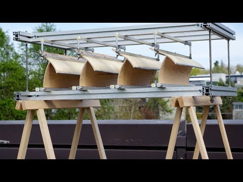 Pine cones inspire adaptive shading system
