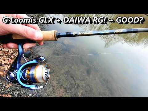 TESTED | G Loomis GLX 721 6' SPINNING Rod | DAIWA RG BUDGET Spinning Reel | NOTHING!!