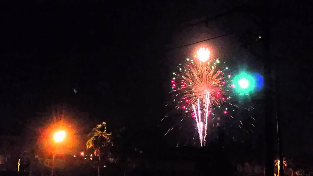 fireworks south padre island 5 22 2015 youtube