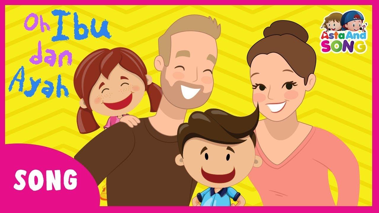 Kumpulan Foto Kartun Ayah Ibu Dan Anak | Duinia Kartun