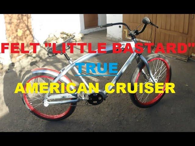 Felt Little Bastard. Американский велосипед-круизер