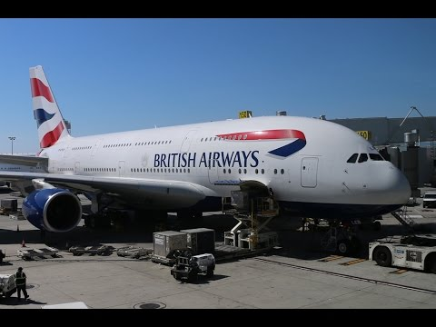 Flying with the A380 from British Airways BA0282,  G-XLEB between Los Angeles and London Heathrow