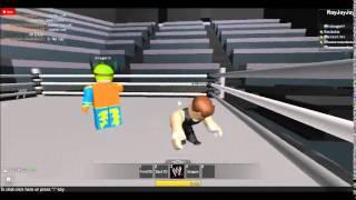 ROBLOX WWE: Sin cara vs Dean Ambrose. #MNR 12 de maio de 2014
