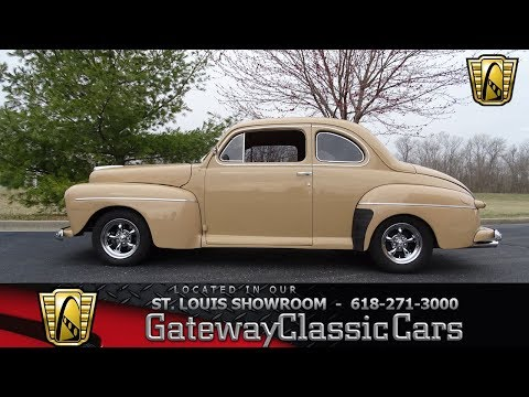 #7656 1946 Ford Coupe - Gateway Classic Cars of St. Louis