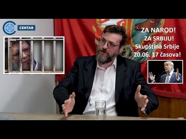 Nogo: Trump će privesti Vučića kao saradnika globalista! Šansa Srbije je 20. jun!