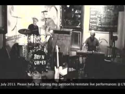 """Back At The Chicken Shack (Jimmy Smith 1960) Brian Downey feat. """"Pedro"""" Ullmann"""