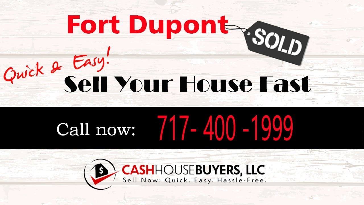 HOW IT WORKS We Buy Houses  Fort Dupont Washington DC   CALL 717 400 1999   Sell Your House Fast