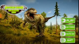 Jungle dino hunter 2018 #Level 1-3 (Best android games for children)