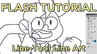 Linetool Lineart - FLASH tutorial